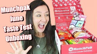 June Munch pak Taste Test International Candy