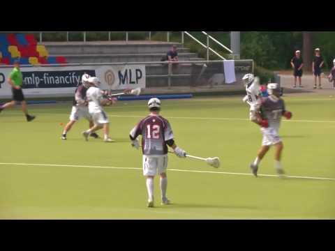 DM Lacrosse 2015   Herren Spiel 1 - Stuttgart vs Köln