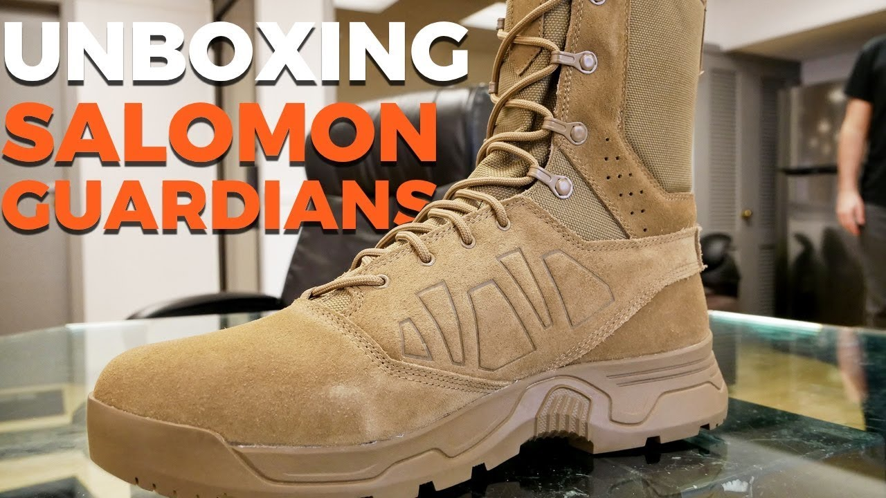 Salomon Mens Guardian CSWP Tactical Boots