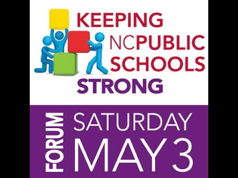 Public Schools First NC Forum Panel 2: Adequate School Funding and Accountability