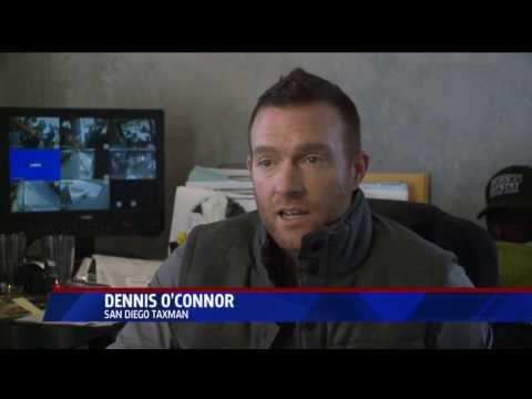 Dennis O'Connor, San Diego's TAXMAN makes news