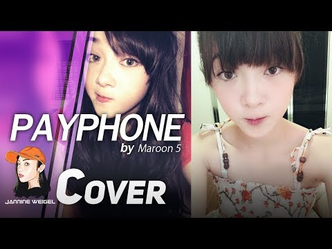 Payphone - Maroon 5 cover by 12 y/o Jannine Weigel