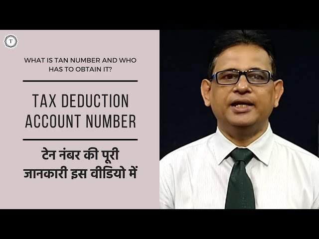 TAN Number   TDS Online Payment   A Complete Guide on Tax Deduction Account Number   Taxpundit