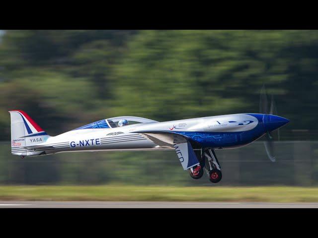 Rolls-Royce termina con éxito el vuelo de prueba de su primer avión completamente eléctrico