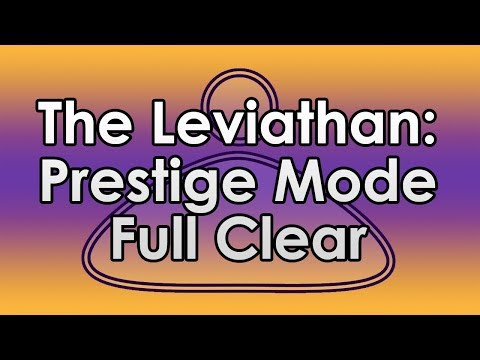 Destiny 2: Full Prestige Mode Leviathan Clear (Only Kills)
