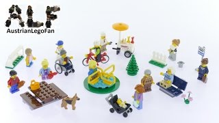 Lego City 60134 Plezier in het park - City personenset - Lego Speed Build Review