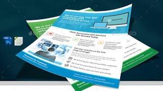 SEO Marketing Flyer Template