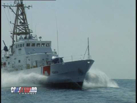 USCGC MATAGORDA  Patrols off Miami