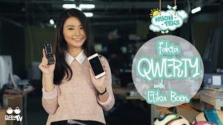 NYONTEKS #04 Fakta QWERTY bersama Elika Boen (Product Design UPH)