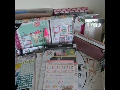 HUGE Happy Planner/Stationery Haul (Amazon, Michael's, Hobby Lobby, Target, Office Max, Dollar Tree)