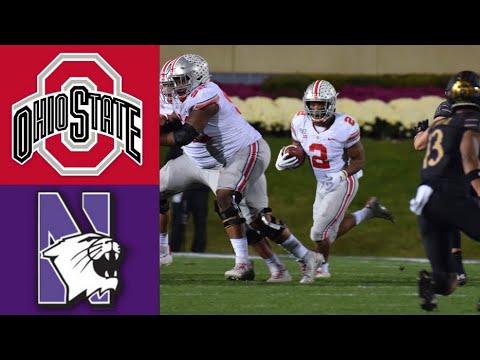 #4 Ohio State vs Northwestern Highlights | NCAAF Week 8 | College Football Highlights