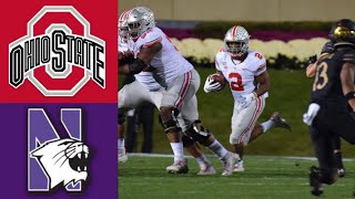 #4 Ohio State vs Northwestern Highlights | NCAAF Week 8 | College Football Highlights
