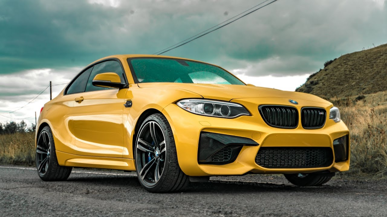 This Speed Yellow Bmw M2 Looks Insane Youtube