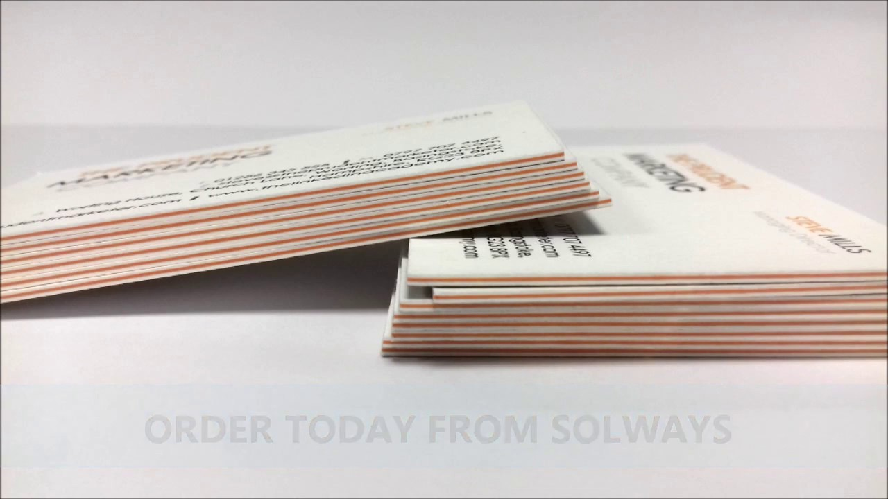 Luxury 900gsm thick triplexed business cards solways quality luxury 900gsm thick triplexed business cards solways quality printing london reheart Choice Image