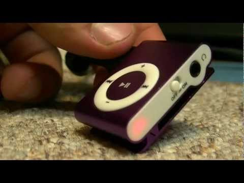 ♫ Самый дешевый мп3-плеер в мире! (ipod shuffle microSD copy) ♫