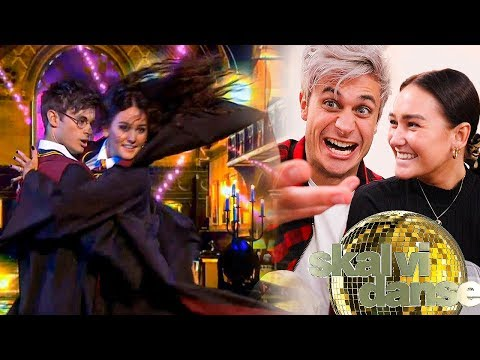 I am Harry Potter in Dancing With The Stars!
