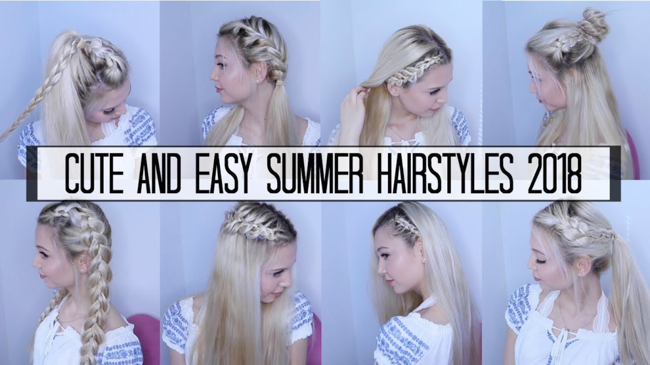 easy summer hair styles 10 amp easy summer hairstyles 2018 3864 | maxresdefault