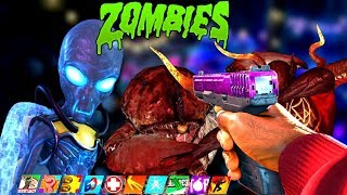 EVERY IW ZOMBIES BOSS FIGHT IN ONE STREAM!