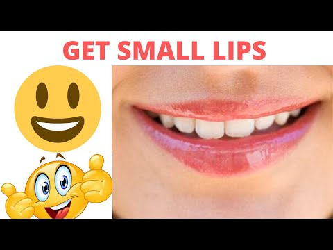 The Best Ways On How To Make Your Lips Smaller: How To Get Small Lips Naturally