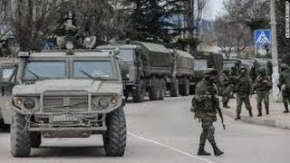Ukraine War - Russian convoy of heavy military equipment near Donetsk, 9th Nov