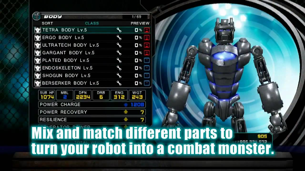 Games Real Steel Ds