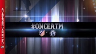Champions League 2013/14. Once del Atlético de Madrid para recibir al Chelsea #onceATM | LINE UP