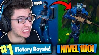 I RELEASED THE SKIN OF THE MAXIMUM LEVEL CARBIDE AND I KILLED GENERAL! Fortnite: Battle Royale