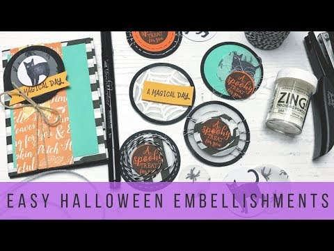My DIY Halloween Embellishments
