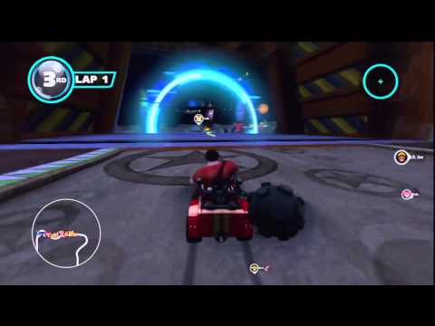 Sonic & All-Stars Racing Transformed - Wreck-It Ralph { Dragon Cup } { Wii U }
