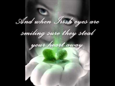 Joni James  - When Irish Eyes Are Smiling  (With Lyrics)