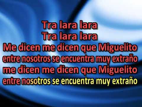 Triana Pura   El probe Miguel [karaoke]