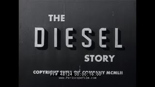 "SHELL OIL CO. ""THE DIESEL STORY""  RUDOLF DIESEL & DEVELOPMENT OF DIESEL ENGINE 48124"