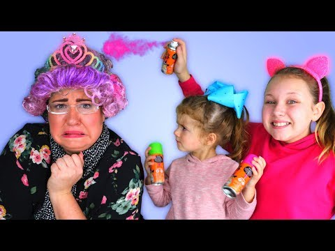GRANNY CAN'T SAY NO!! KIDS IN CHARGE FOR 24 HOURS