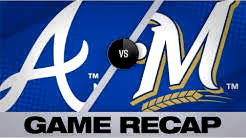Yelich, Pina homer in Brewers' 5-4 victory | Braves-Brewers Game Highlights 7/17/19