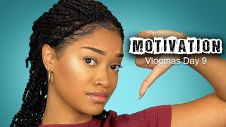 STOP Looking for Motivation! Chit Chat GRWM (Vlogmas Day 9)