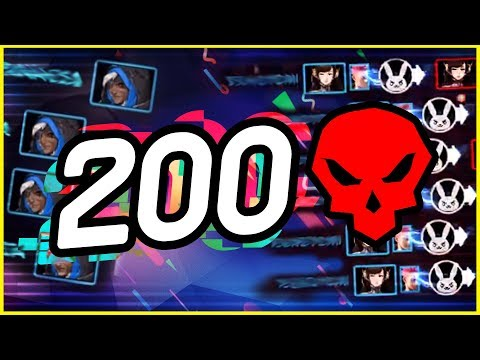 200 Satisfying Kills | Overwatch Community Montage