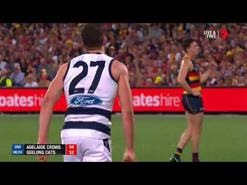 Highlights: Adelaide v Geelong