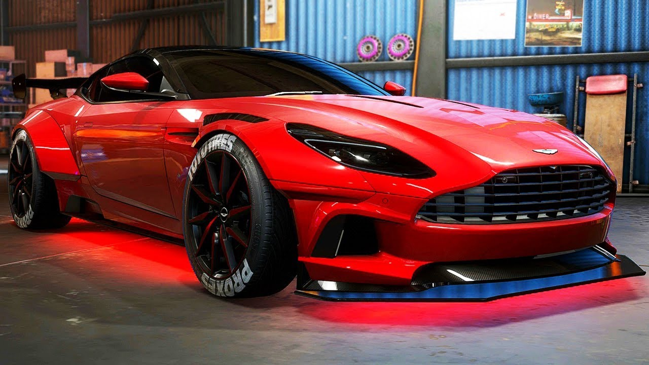 Aston Martin Db11 Build Need For Speed Payback Part 62 Youtube