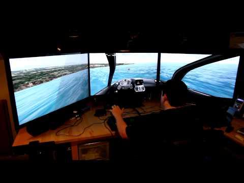 Microsoft Flight, nVidia Suround, TrackIR, Logitech G940