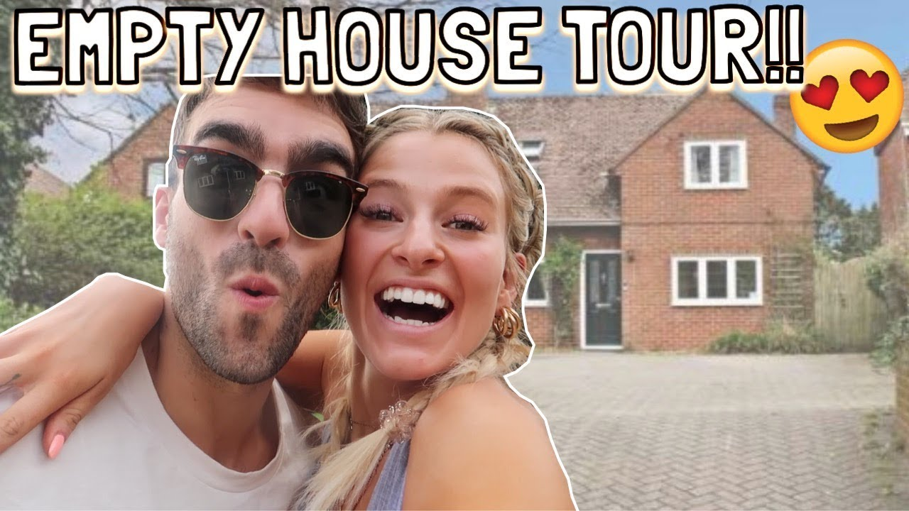 WE BOUGHT A HOUSE!! EMPTY HOUSE TOUR