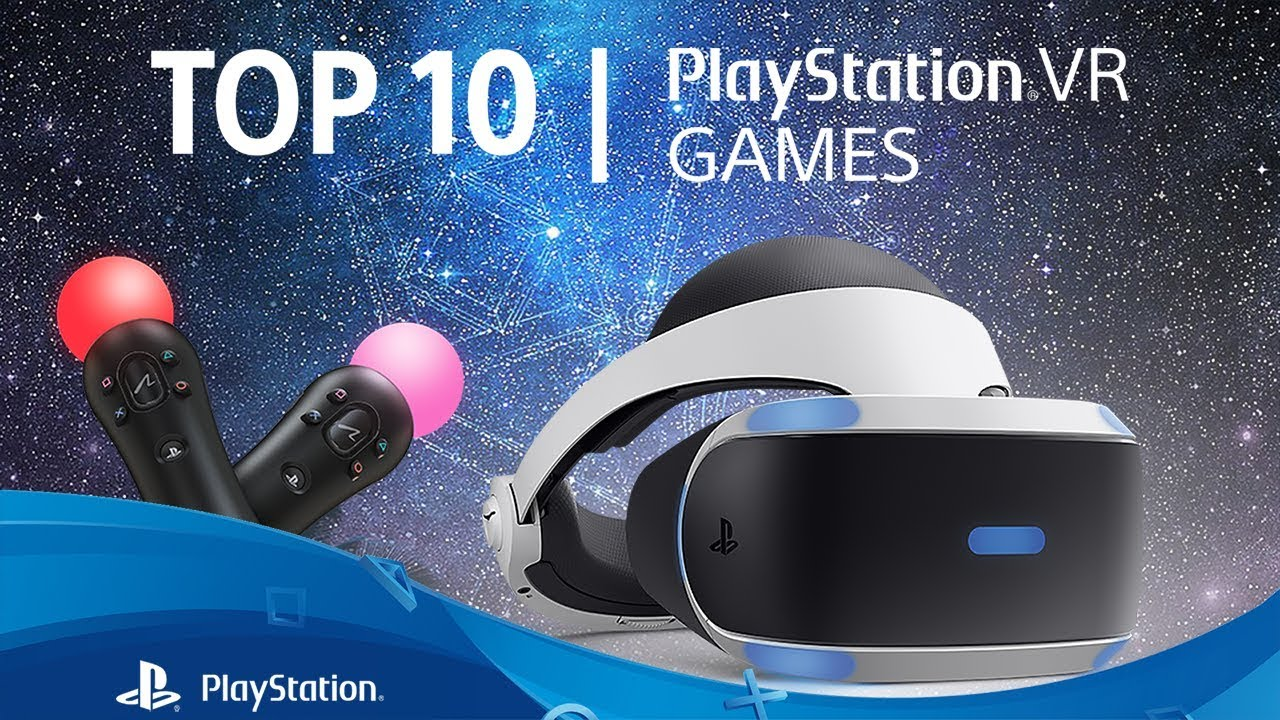 Top 10 BEST PlayStation VR Games