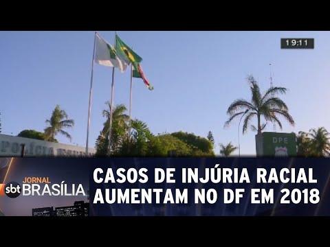 Casos de injúria racial aumentam no DF em 2018 | Jornal do SBT Brasília 10/09/2018
