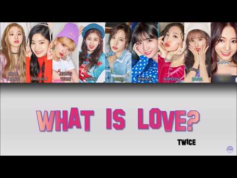TWICE (트와이스)  WHAT IS LOVE? German Lyrics [Han/Rom/Ger]