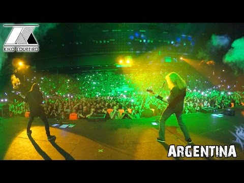 Sold out concert in Argentina (Neuquén and Buenos Aires)