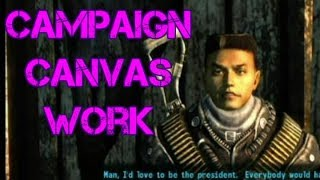 Fallout 3 (Part 92) Campaign Canvas Work