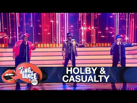 Holby City & Casualty cast perform 'Uptown Funk' by Bruno Mars - Let's Sing and Dance: Final 2017
