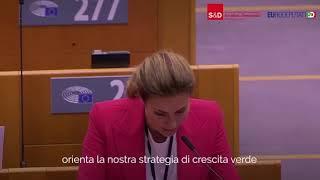 """Intervento in Plenaria dell'europarlamentare Alessandra Moretti su """"Legge europea sul clima"""""""