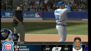 (PS3) MLB 08 The Show - Cubs at Brewers [1st Inning]