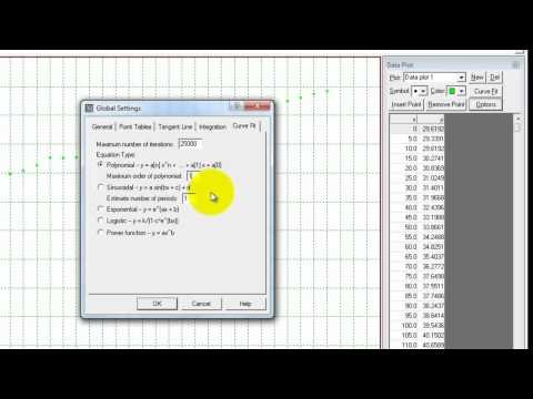 Transfering Data From Excel Into Graphmatica.mp4