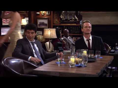 Barney's truth serum drunk